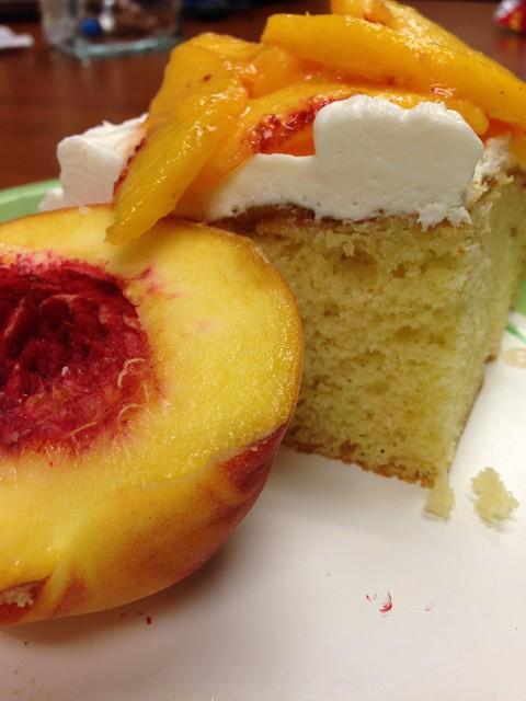 """Peach """"Shortcake"""""""