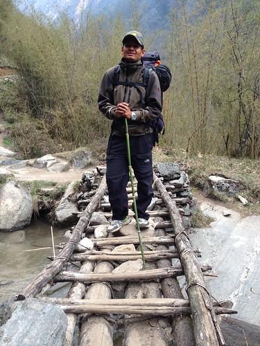 trekking to Himalaya