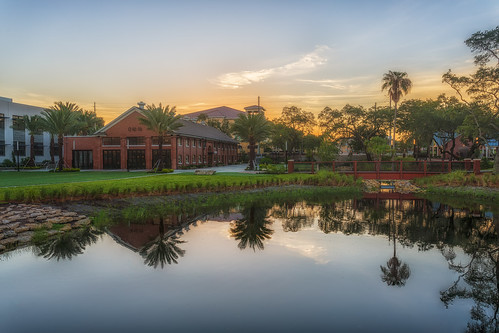 reflection sunrise tampa effects florida processing hdr waterworkspark ulele nikphotomatix