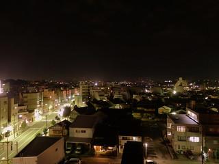 アパホテル金沢片町からの夜景|Katamachi Night Scene