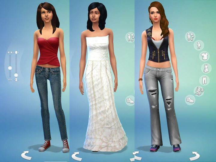 vestiti the sims 4 gratis