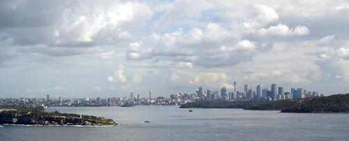 panorama skyline view sydney wolken australia aussicht northhead beautyofwater seasunclouds cloudsstormssunsetssunrises
