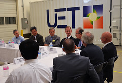 UniEnergy Technologies hosted a business roundtable for energy and utilities executives