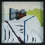 Libby Barbee;The Substance of the Making; 2013; Cut paper in shadow box; 24x24 -