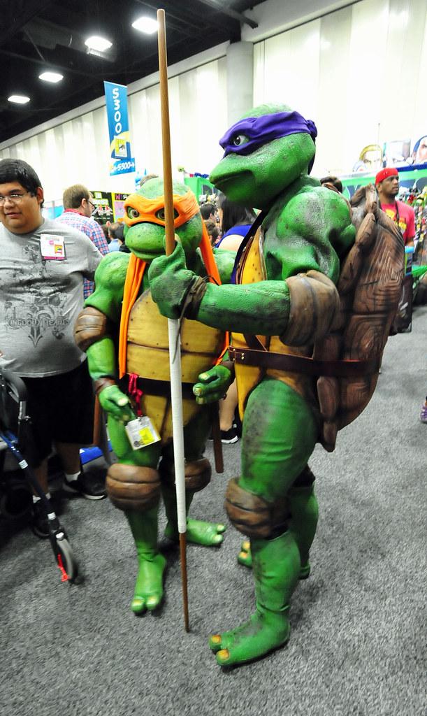 Sdcc Cosplay Teenage Mutant Ninja Turtles Heather Paul Flickr