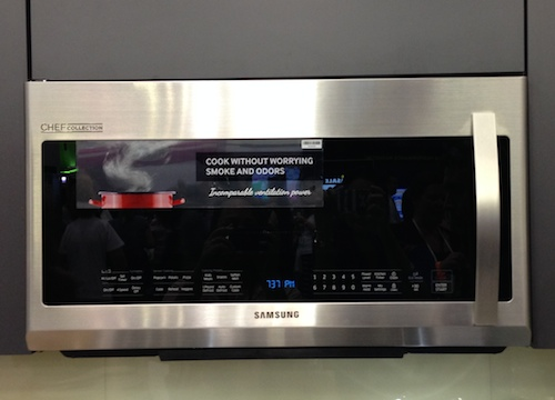 Samsung Chef Collection Microwave