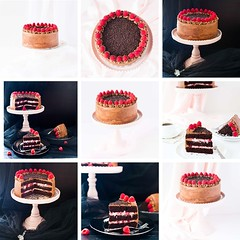 9 ways I photographed chocolate cake...This is my…