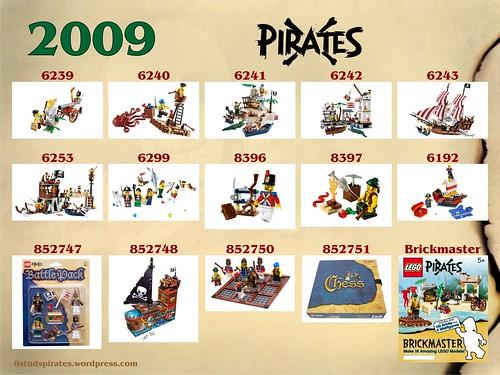 LEGO Pirates Timeline 2009