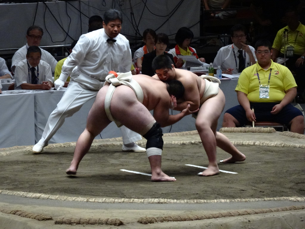 Sumo wrestling amateur tournament National Sumo Hall Tokyo