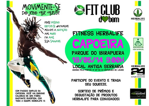 capoeira fit camp herbalife movimente-se foco vida saudavel