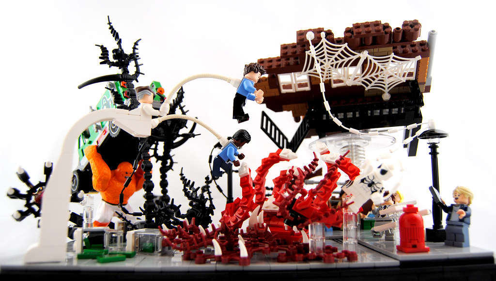 Lego Spiderman Carnage Set