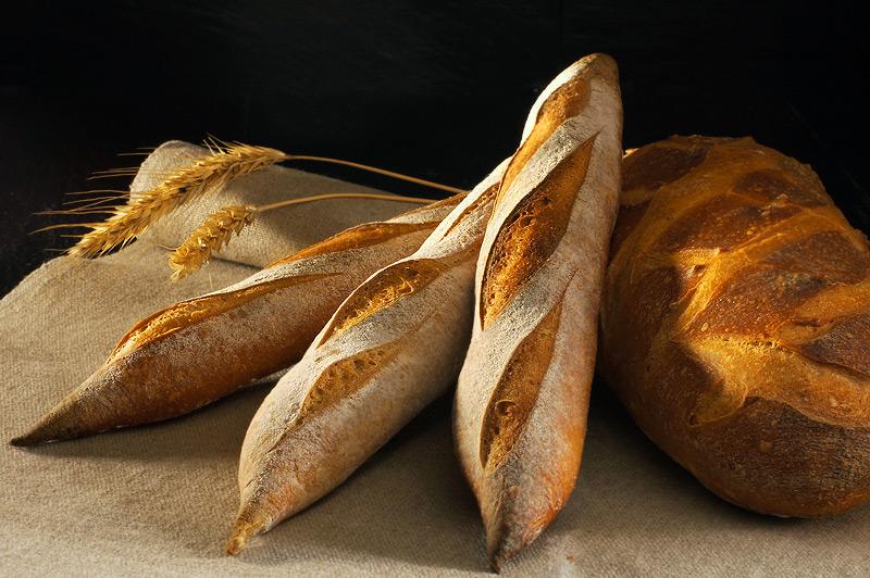 Рецепт французский багет на натуральной закваске