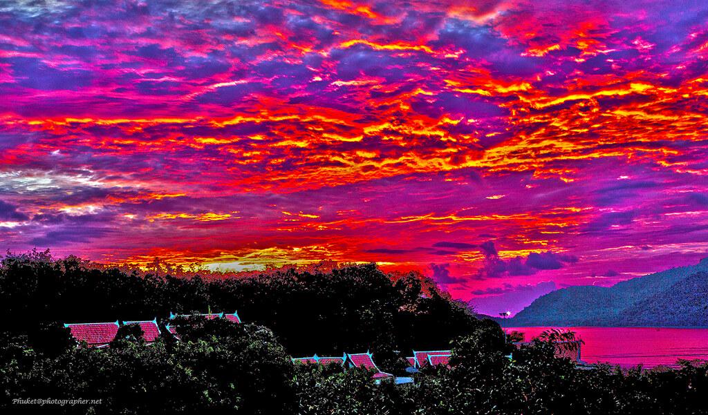 HDR Sunrise over the sea XOKA1923bs-HDR