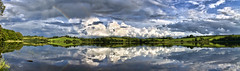Panorama HDR Irish Lake by YRIOU