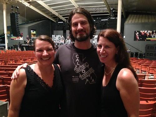 Tricia, Matt & me