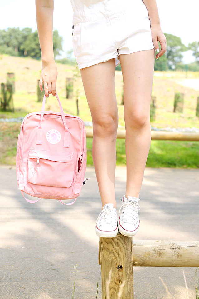 Pink Kanken Backpack
