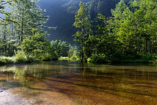 Morning light(Tashiro-ike Pond)