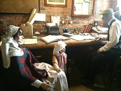 Gloucester Waterways Museum - Gloucester Docks -  Level 2 - Life on the Waterways! - A Severn Commission Office in 1938