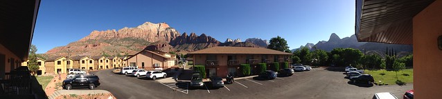Zion hotel view