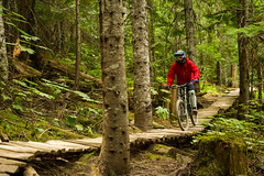 No better way to spend the long weekend than in Whistler Mountain Bike Park.