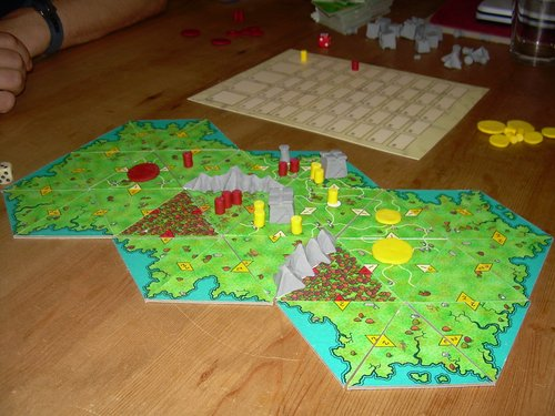 Border Reivers prototype from back in the day