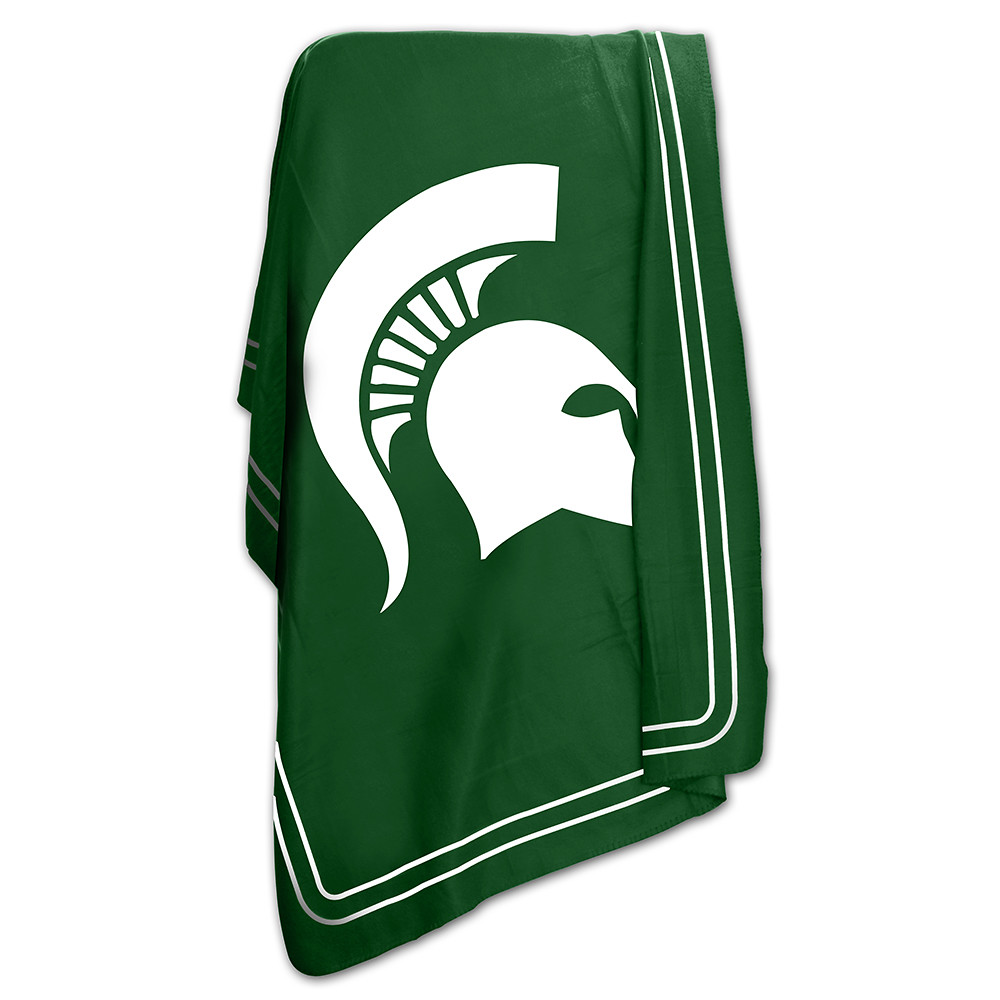 cheap for discount 8f317 1f07d Michigan State Spartans Classic Fleece Throw