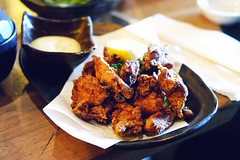 Japanese Popcorn Chicken