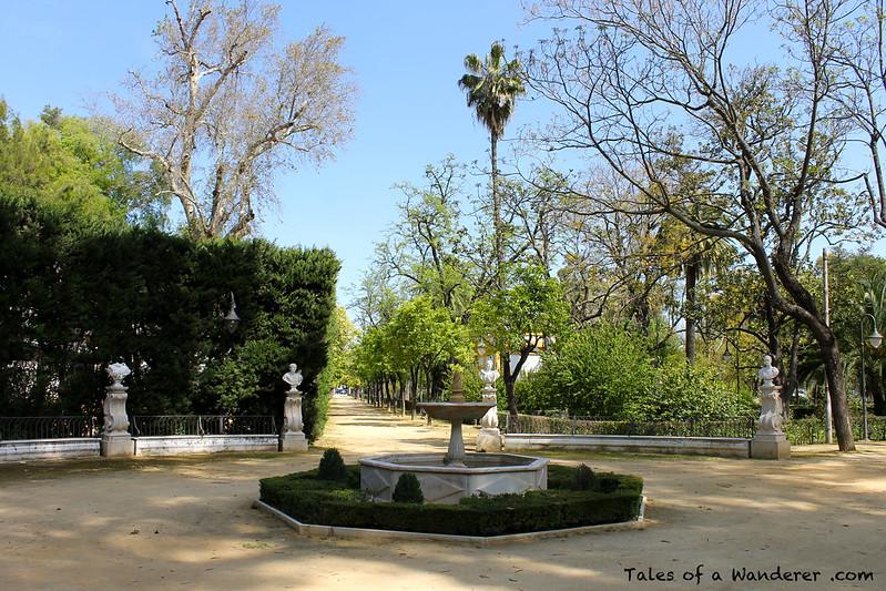 SEVILLA - Jardines de las Delicias