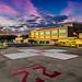 helipad sunrise 2 by mikegyver8