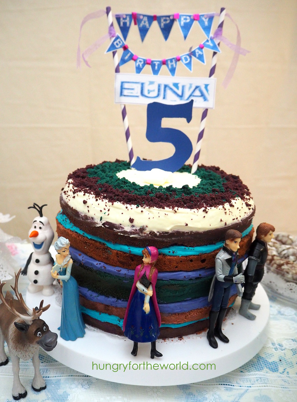 frozen 5th cake