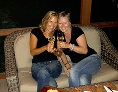 Cheers to Pam & Laura
