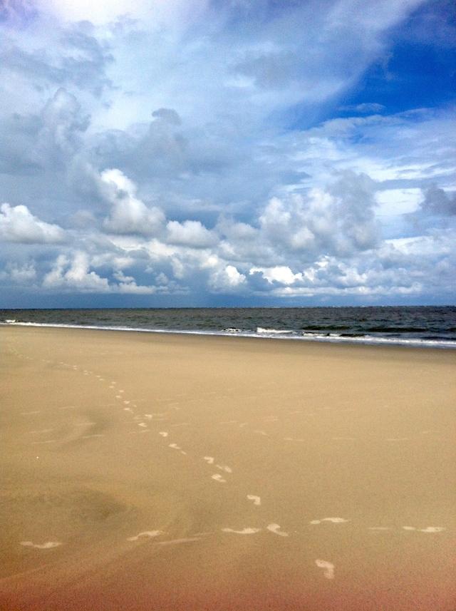 Fußspuren Sand Blog Langeoog