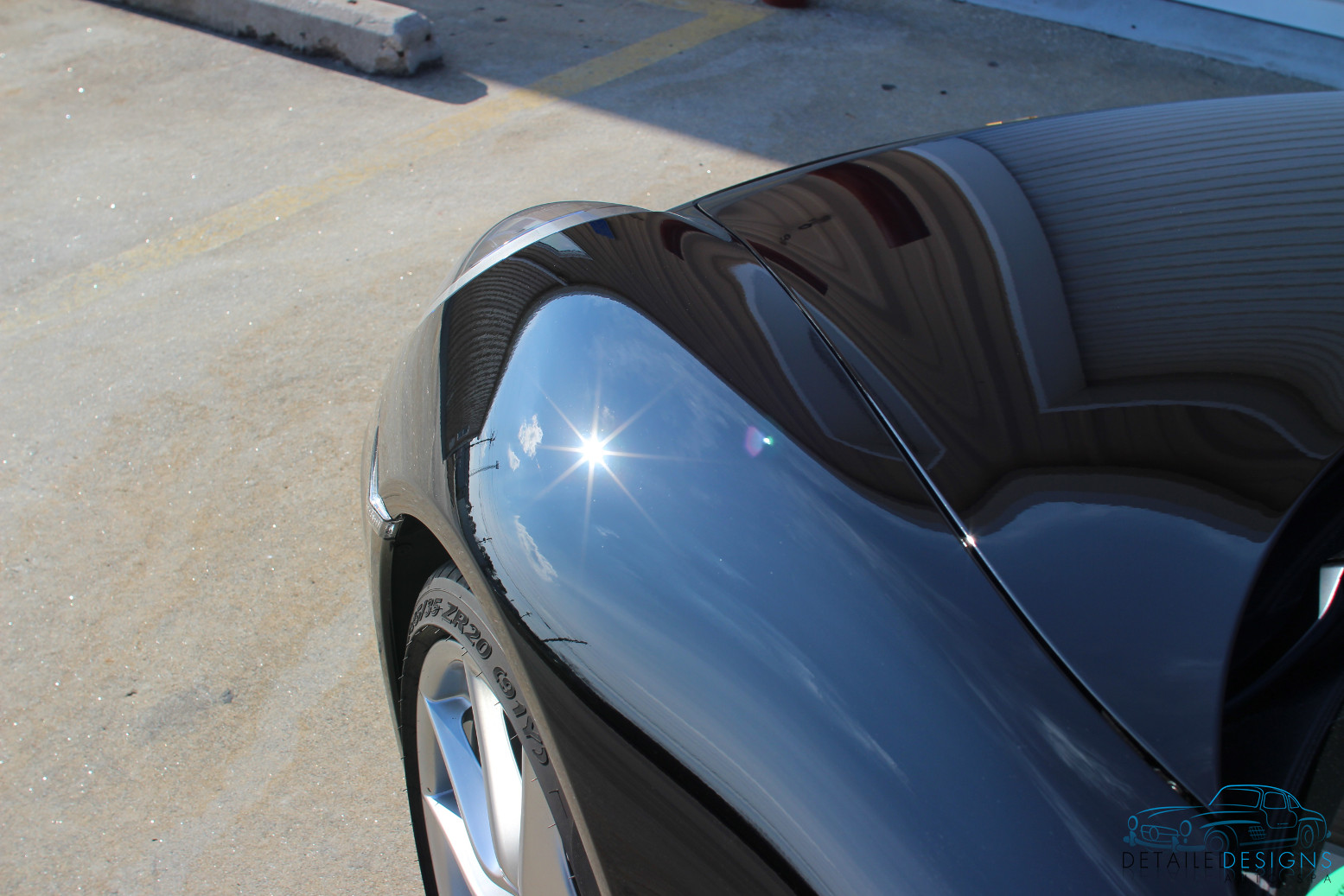 Atlanta Porsche Paint Correction