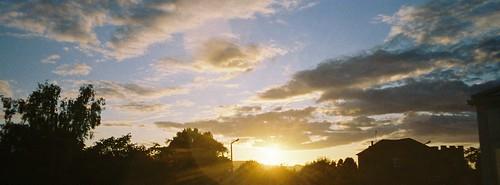 wide screen sundown