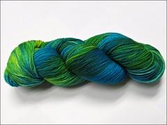 Brazilian Emerald La Jolla yarn