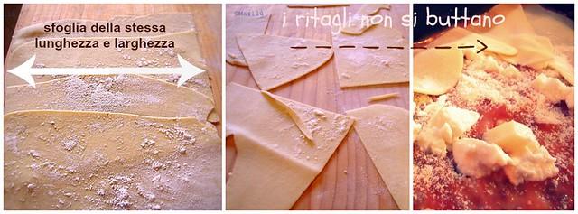 lasagna veloce collage 3