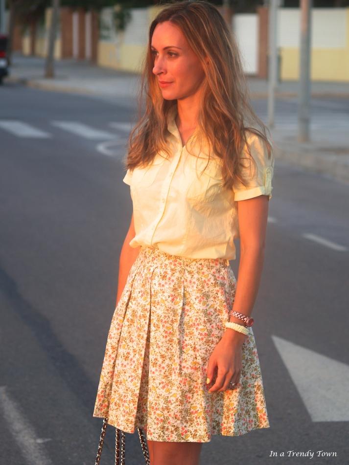 DIY Sunset Skirt