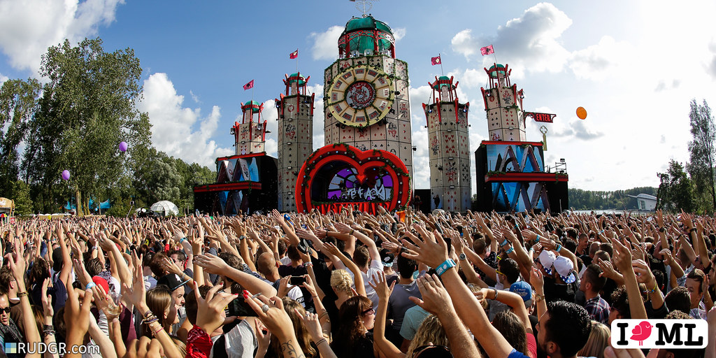 Steve Aoki brings the madness to Mysteryland