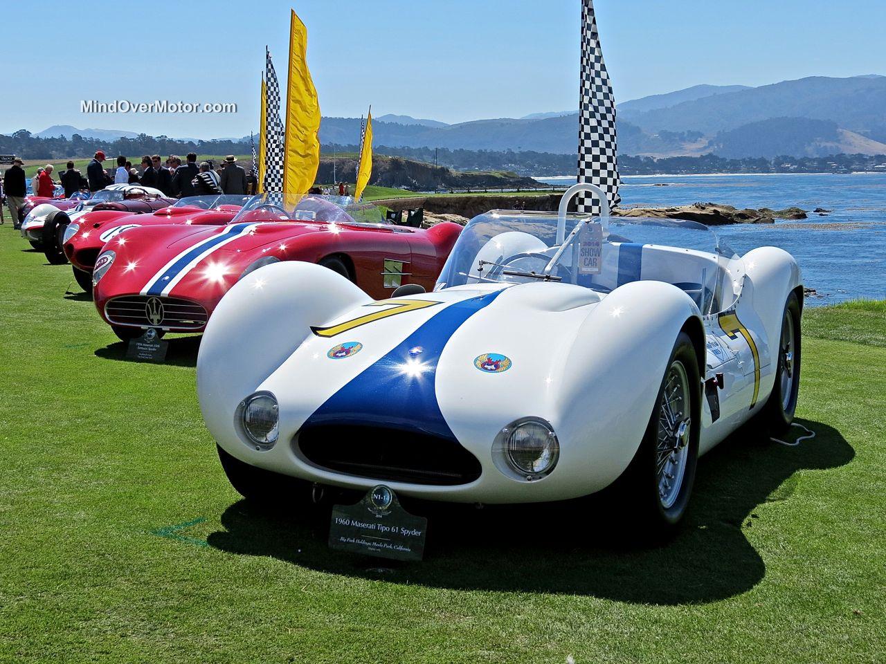 Pebble Beach 2014-Maserati Tipo 61 Birdcage
