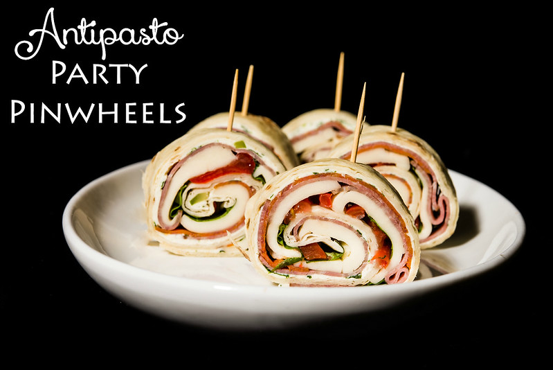 antipasto party pinwheels recipe in_the_know_mom #OldWorldStyleOM