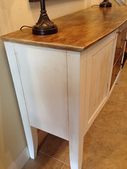end table, drawer, furniture, wood, wood stain, table, sideboard, hardwood, desk, cabinetry,