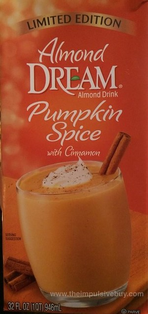 Almond Dream Limited Edition Pumpkin Spice Almond Drink