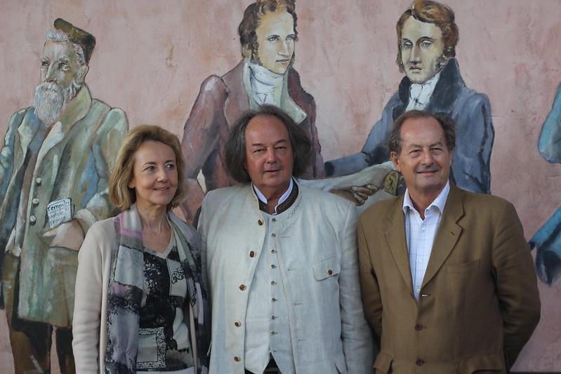 Dominique Bona, Gonzague Saint-Bris et Jean-Marie Rouart - Forêt des Livres 2014