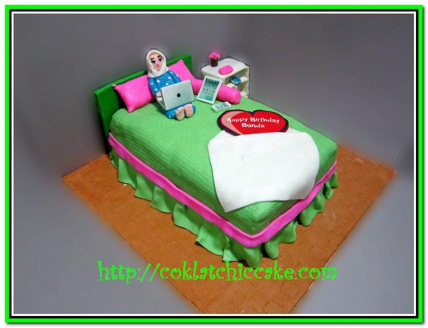 Cake Tempat Tidur