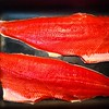 One sockeye for the pan, one sockeye for the freezer. A good day.