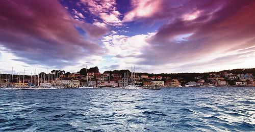 sunset sea sky seascape colour canon tramonto cielo croazia cartolina lussino canoneos50d malilussinj federicodettoghigo