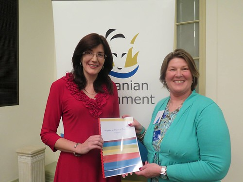 Launching the Women and Girls in Tasmania Report | by jacquiepetrusma