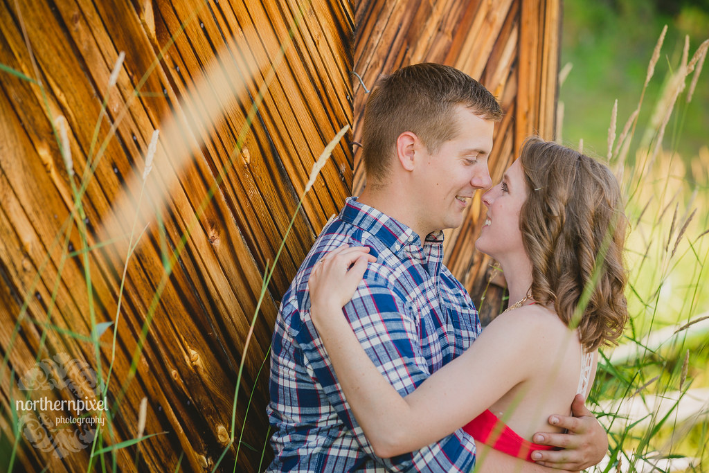 Huble Homestead Engagement - Prince George BC Photographer