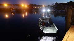 The F/V Kathryn Leigh Heads Out Lobstering 5:51AM 9/9/14