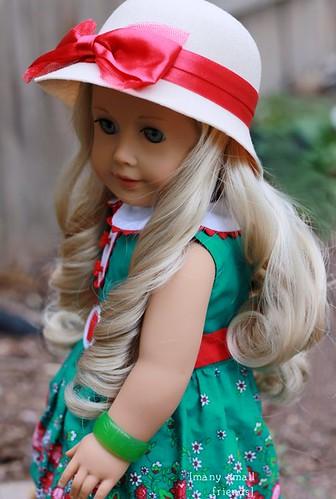 AG Doll Caroline wears Kit Kittredge Beforever Outfit